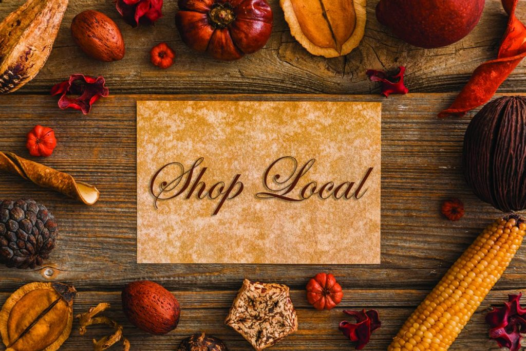 shop local fall